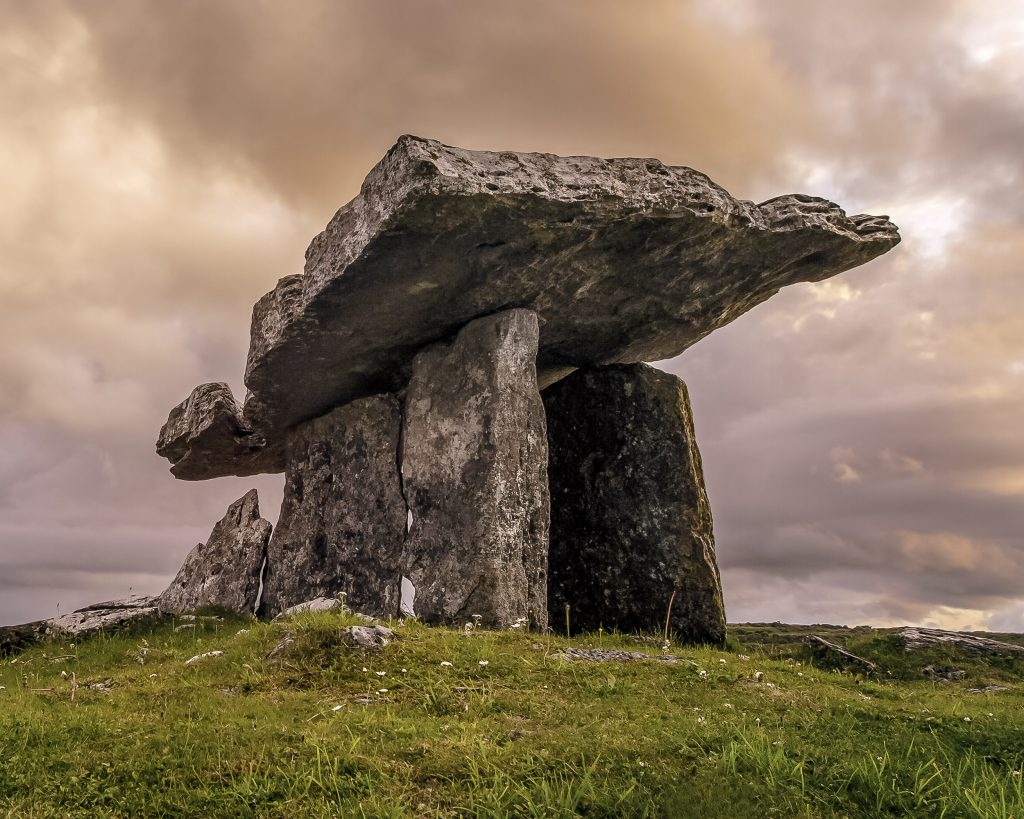 Dolmen available to view on your sightseeing tour